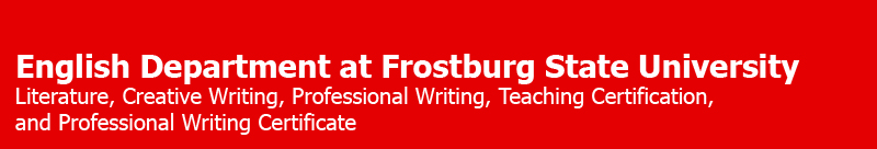 English Department @ Frostburg State University