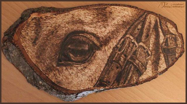 Wood Burning Art [pyrography]