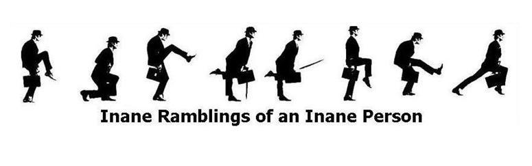 Inane Ramblings of an Inane Person