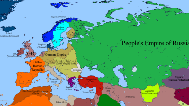 alternate history map | Tumblr