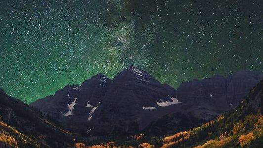 Night Sky Shooting Stars
