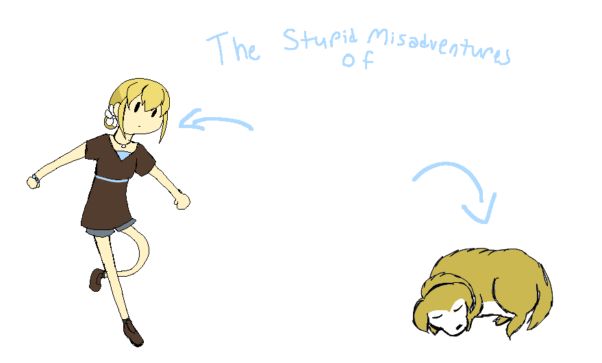 The Stupid Misadventures of Blue and Dog!