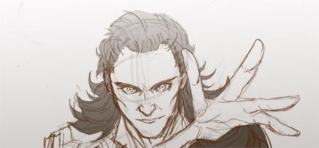 Tom Hiddleston Art