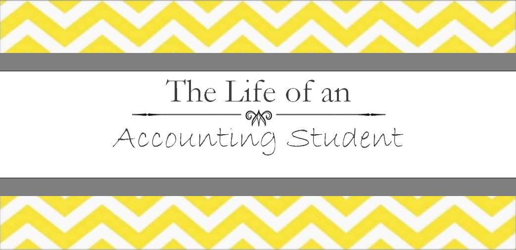The Life of an Accounting Student