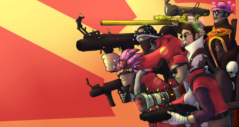 Team Fortress 2 Artwork Inbound
