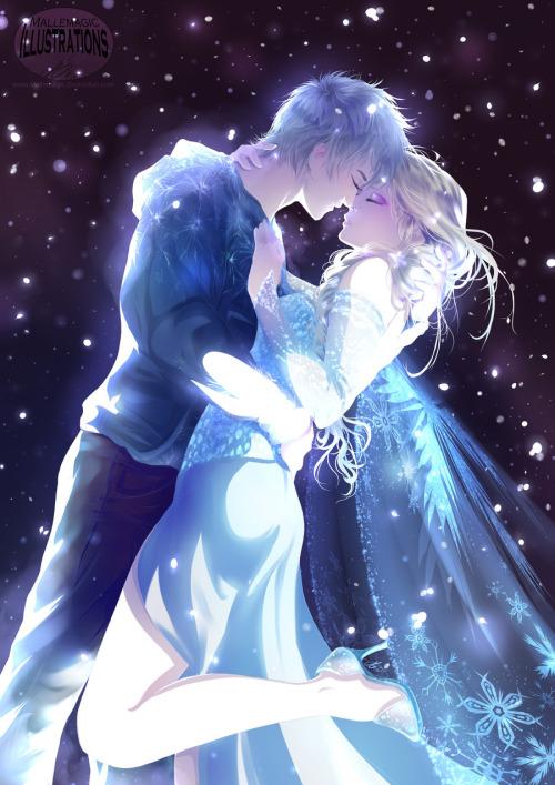 elsa Jelsa and jack frost