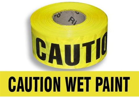 Caution: Wet Paint !