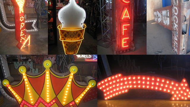 Young pre vintage neon sign for sale free rocking teen