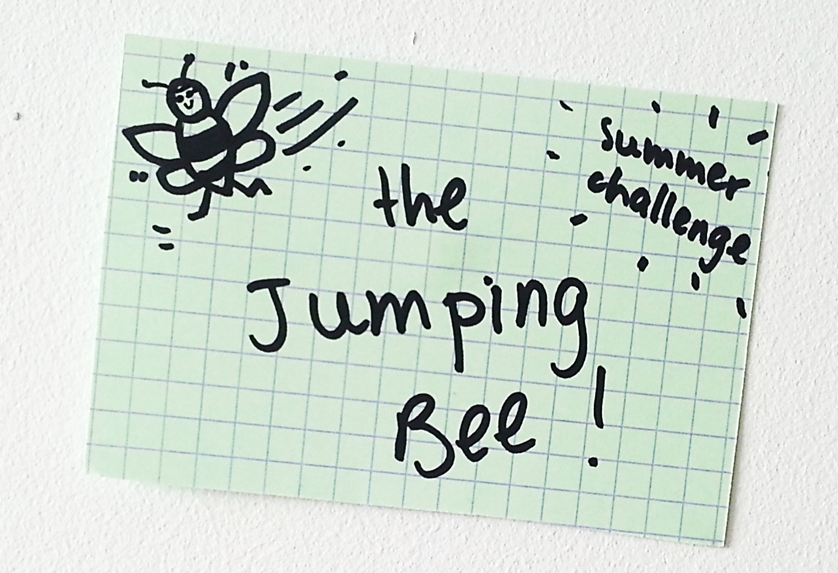 The Jumping Bee