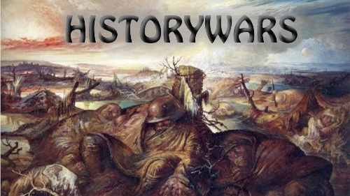 history wars War is one activity in which mankind has been involved since thier very existence  the oxford dictionary describes the act of war as, '' a state of.