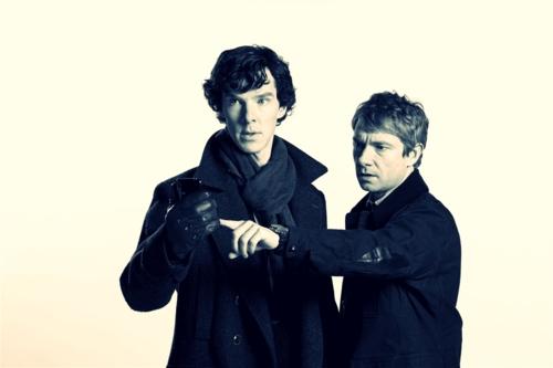 John And Sherlock Former CPT  Dr  John H  Watson