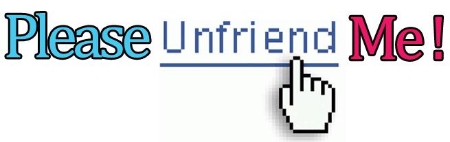 Imagini pentru unfriend me
