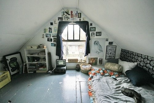 Room goals for Cool attic room ideas