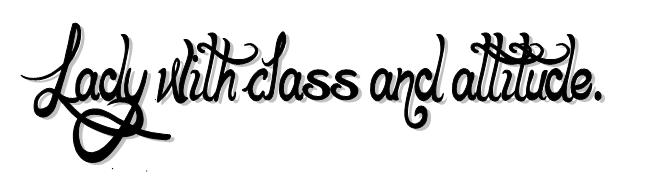 CLASS & ATTITUDE