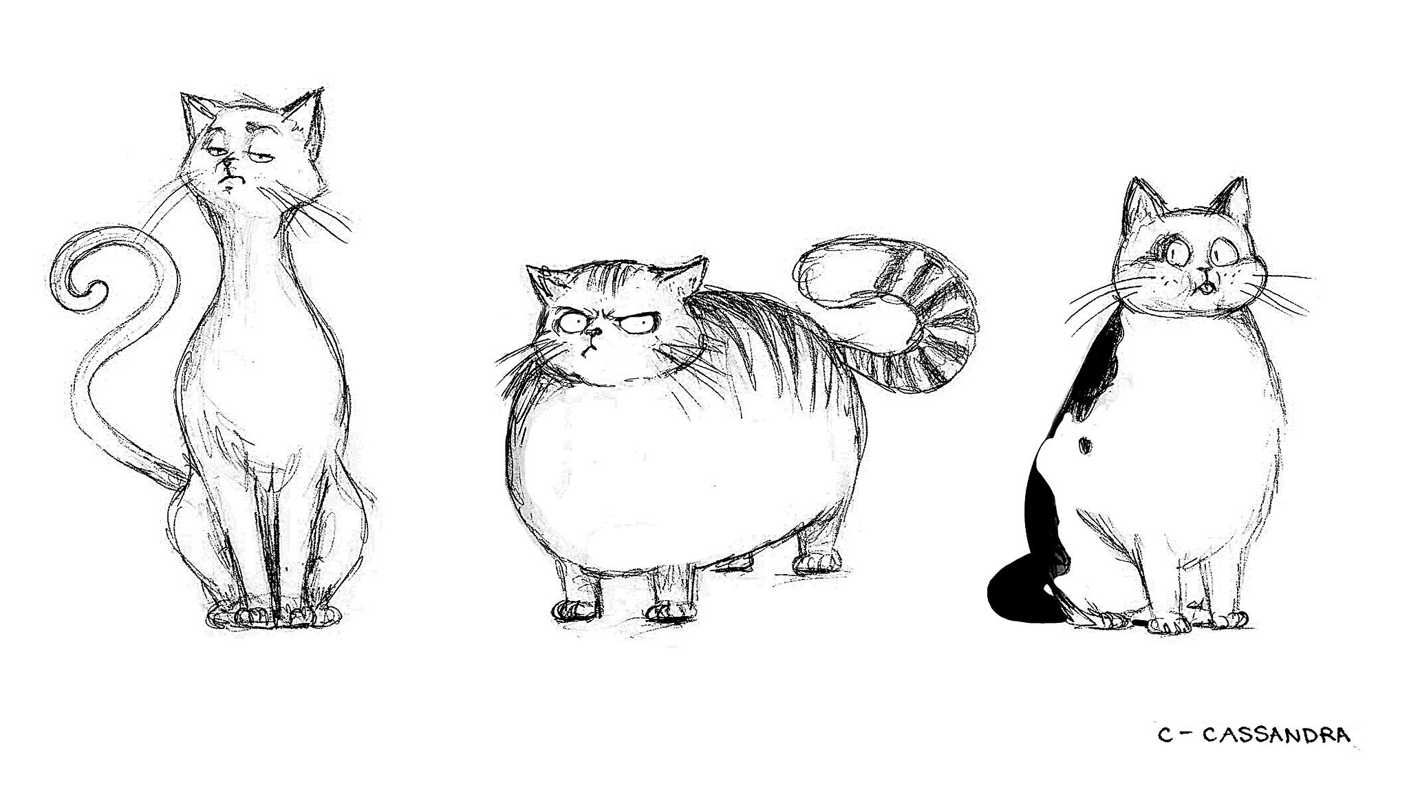 Draw Cats Cassandra