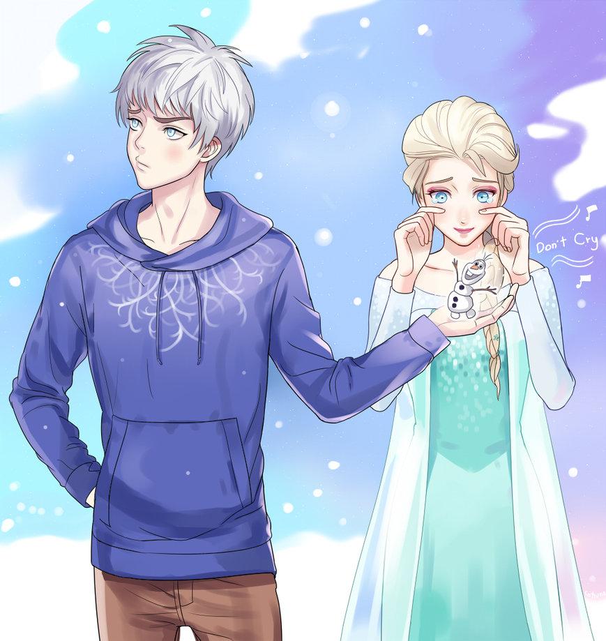 Jack frost and elsa frozen