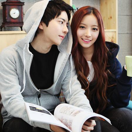 Qri park tae jun is dating