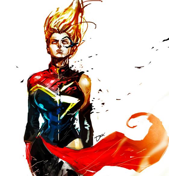 captain marvel tumblr