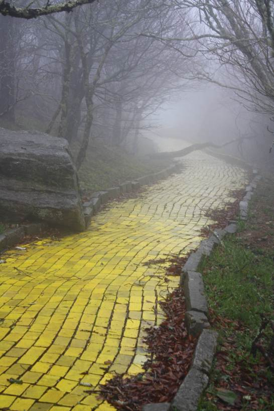 It's a not really yellow brick road