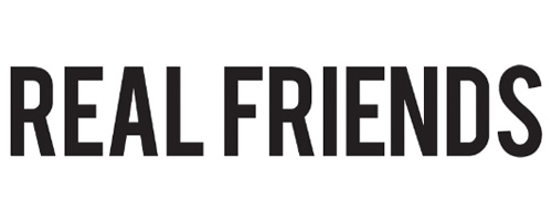 Real Friends Logo Transparent