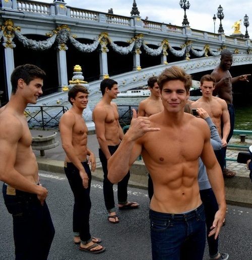 abercrombie and fitch models nude № 79838