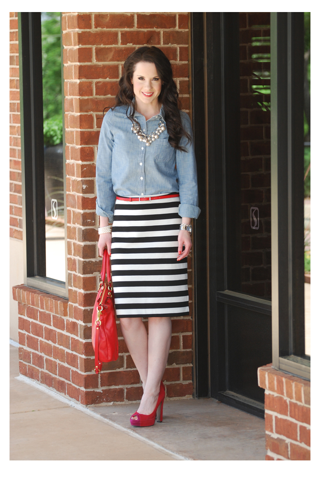 L And The Stripe Skirt The Double Take Girls