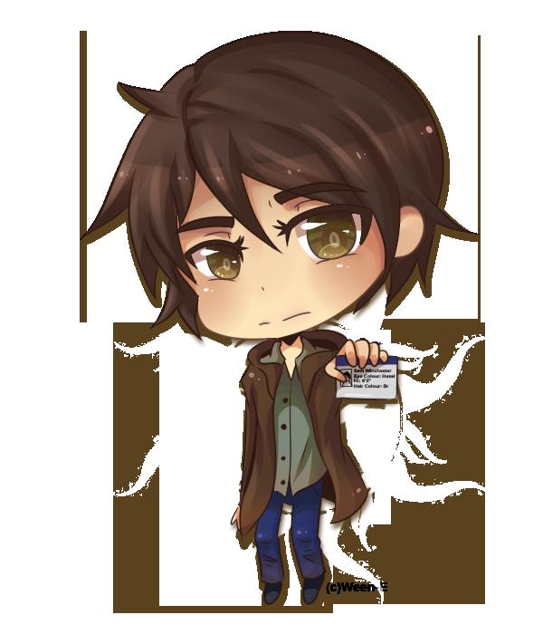 Chibi Demon Supernatural Hairstyle