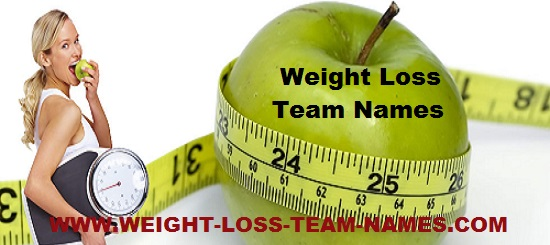 weight loss groups names