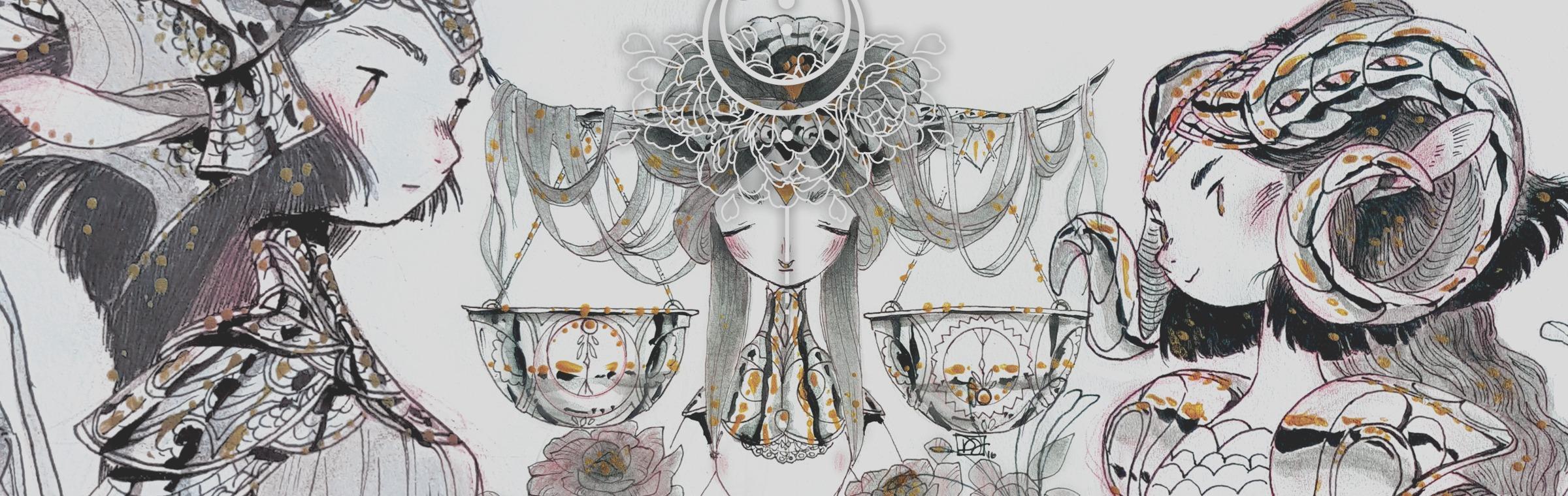 🌌#Inktober 21: Sagittarius ♐ (My moon sign! 😀)    - denae*moon