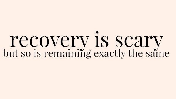 Image result for recovery tumblr