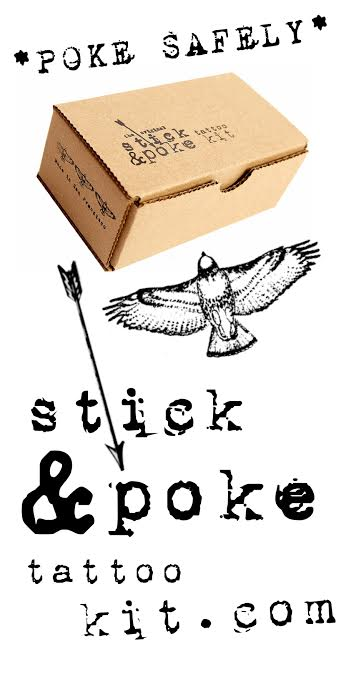 Stick and poke tattoo kit for How to stick and poke tattoo