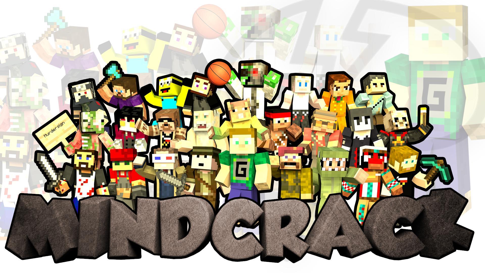 Mindcrack Logo Wallpaper