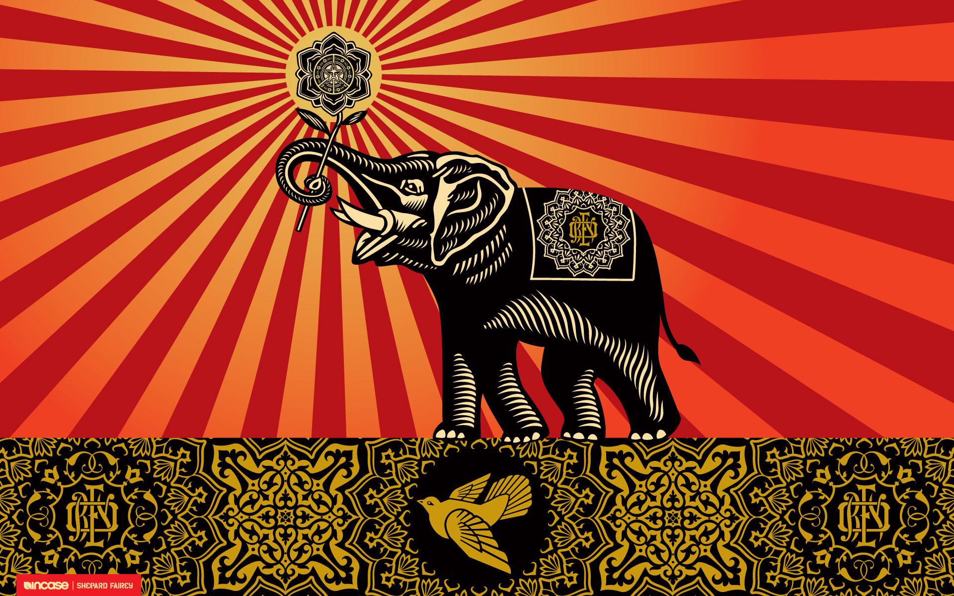 Must see Wallpaper Horse Colorful - tumblr_static_shepardfairey  Gallery_14367.jpg