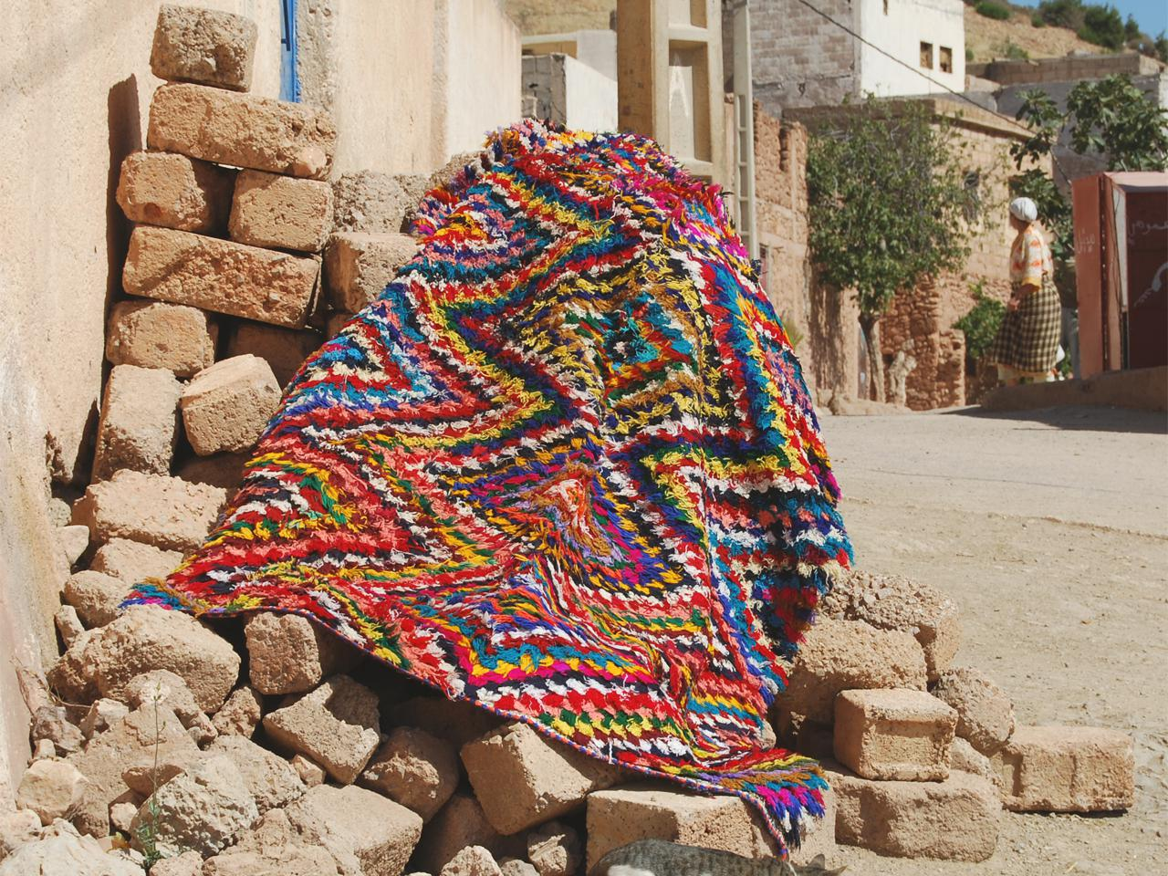 Charming Boucherouite Rugs U003d Art