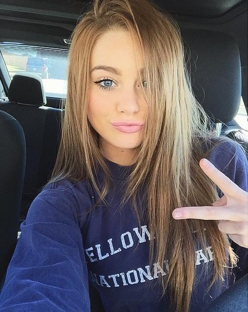 Самые красивые девушек русых на