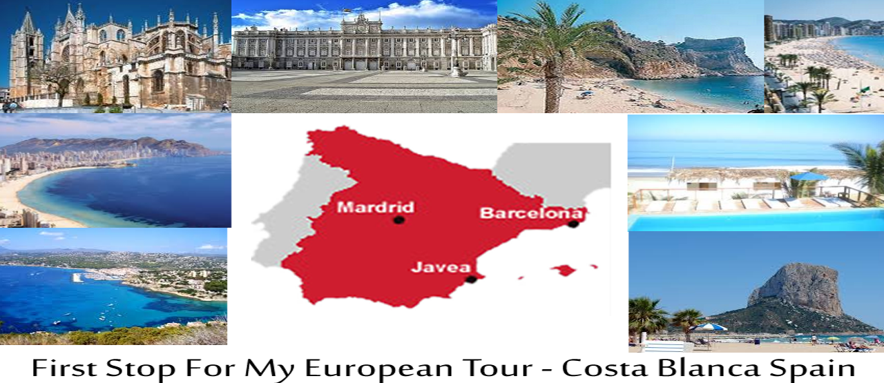 First Stop To My European Tours - Spain