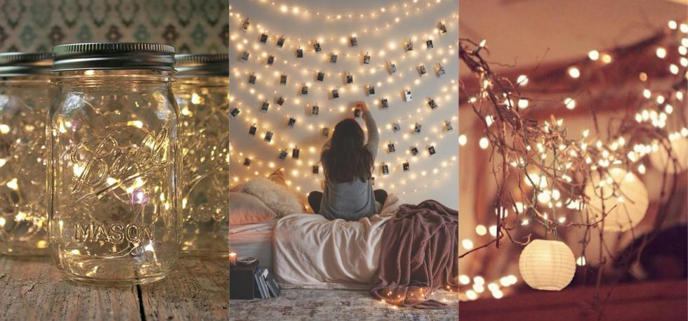 Fairy lights tumblr best fairy lights room decoration on tumblr - Rm decoration pic ...