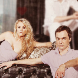 are sheldon and penny dating in real life