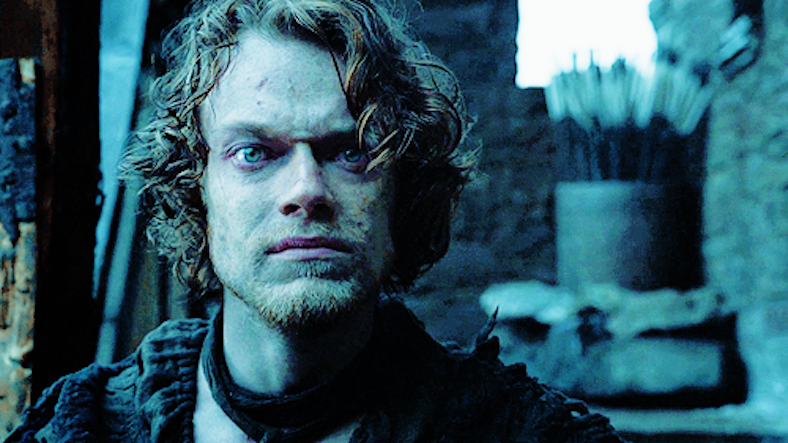 is theon greyjoy in love with sansa