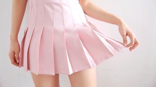 pink tennis skirt | Tumblr