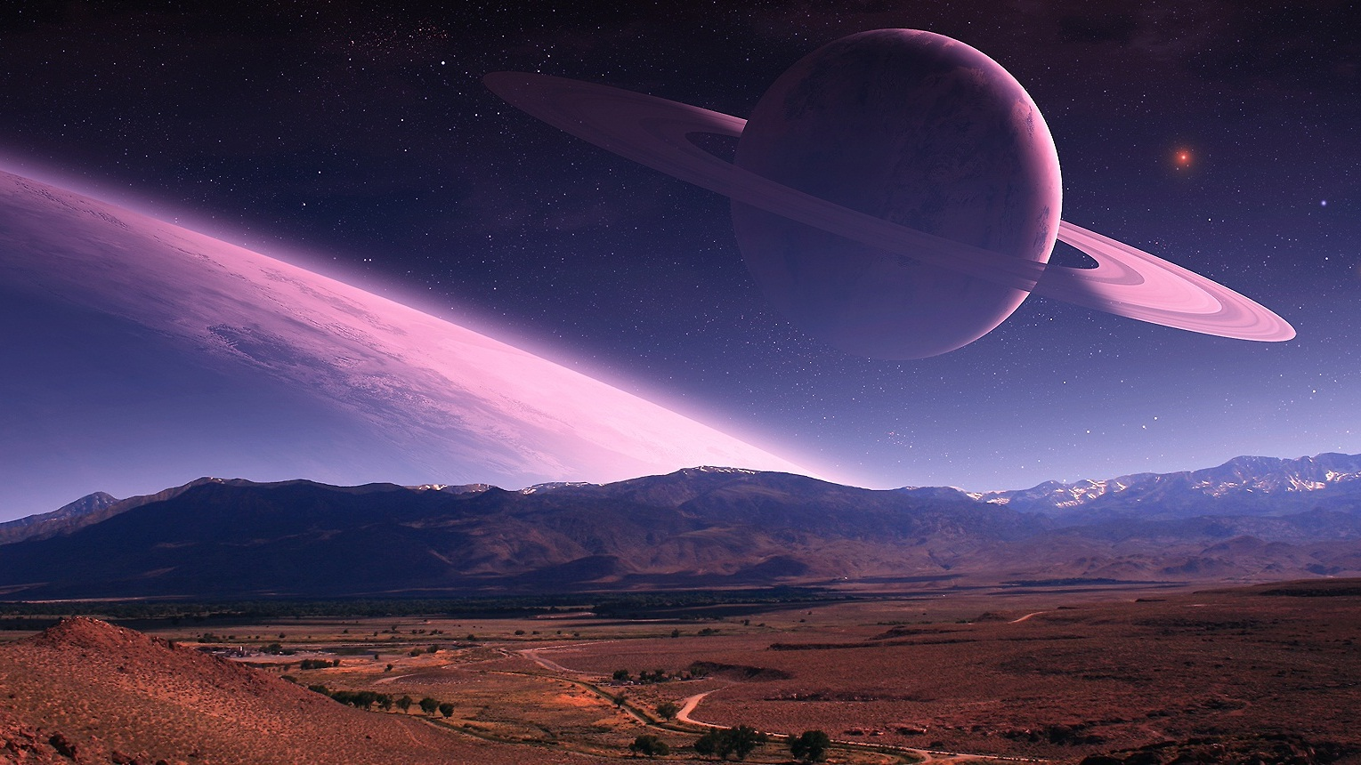 exoplanet backgrounds free - 1200×630