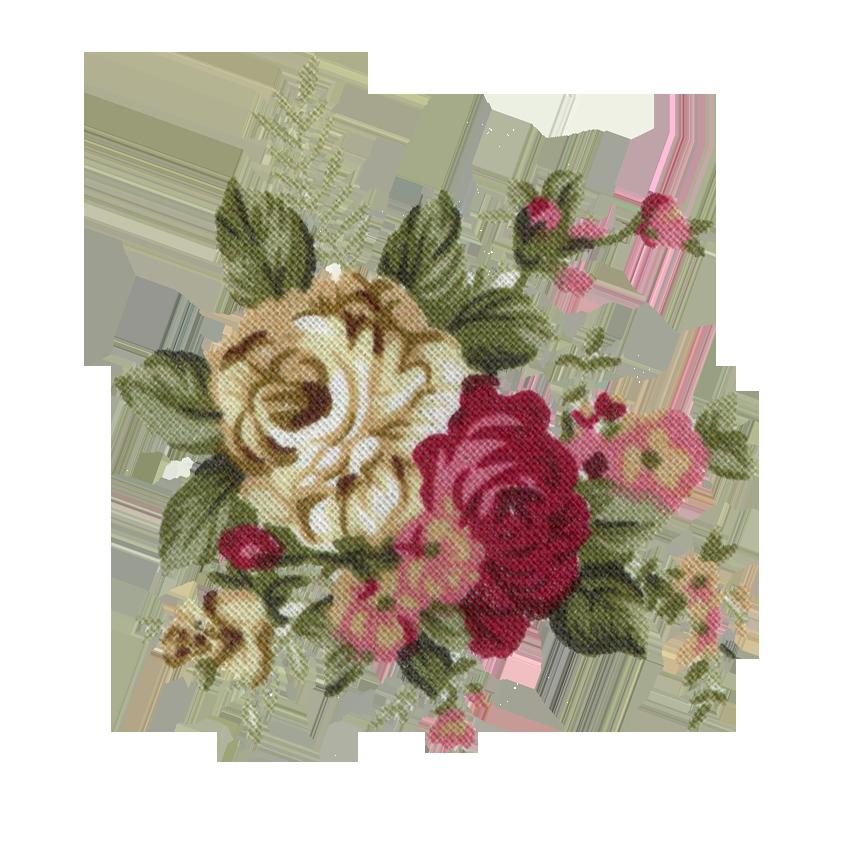 Vintage Flowers Pictur...