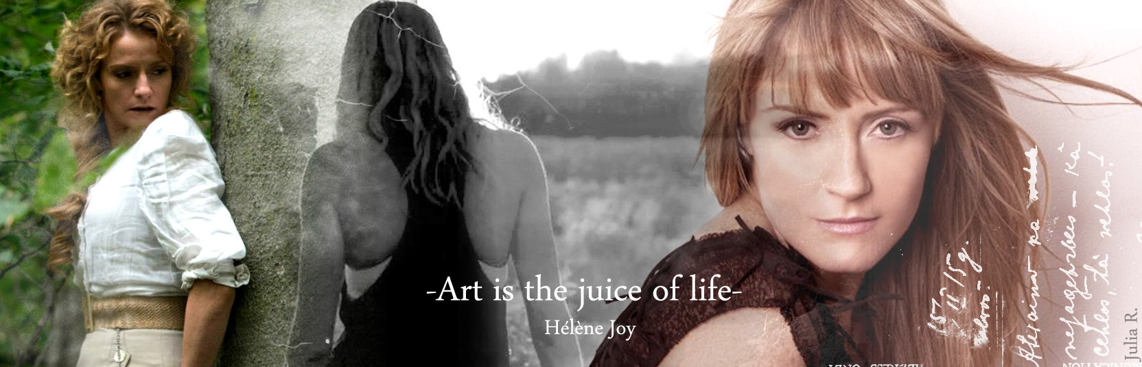 -Art is the juice of life-
