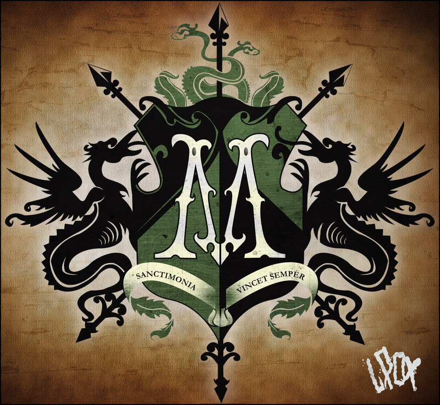 Family crests of europe black nobility