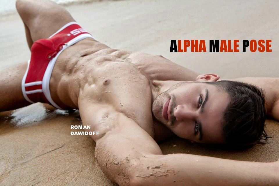 ALPHA MALE POSE