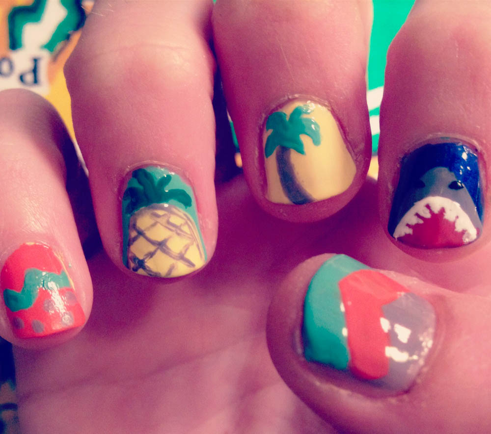 Touch-Me-Not Nails is Claire Fuller, a freelance nail artist based in ...