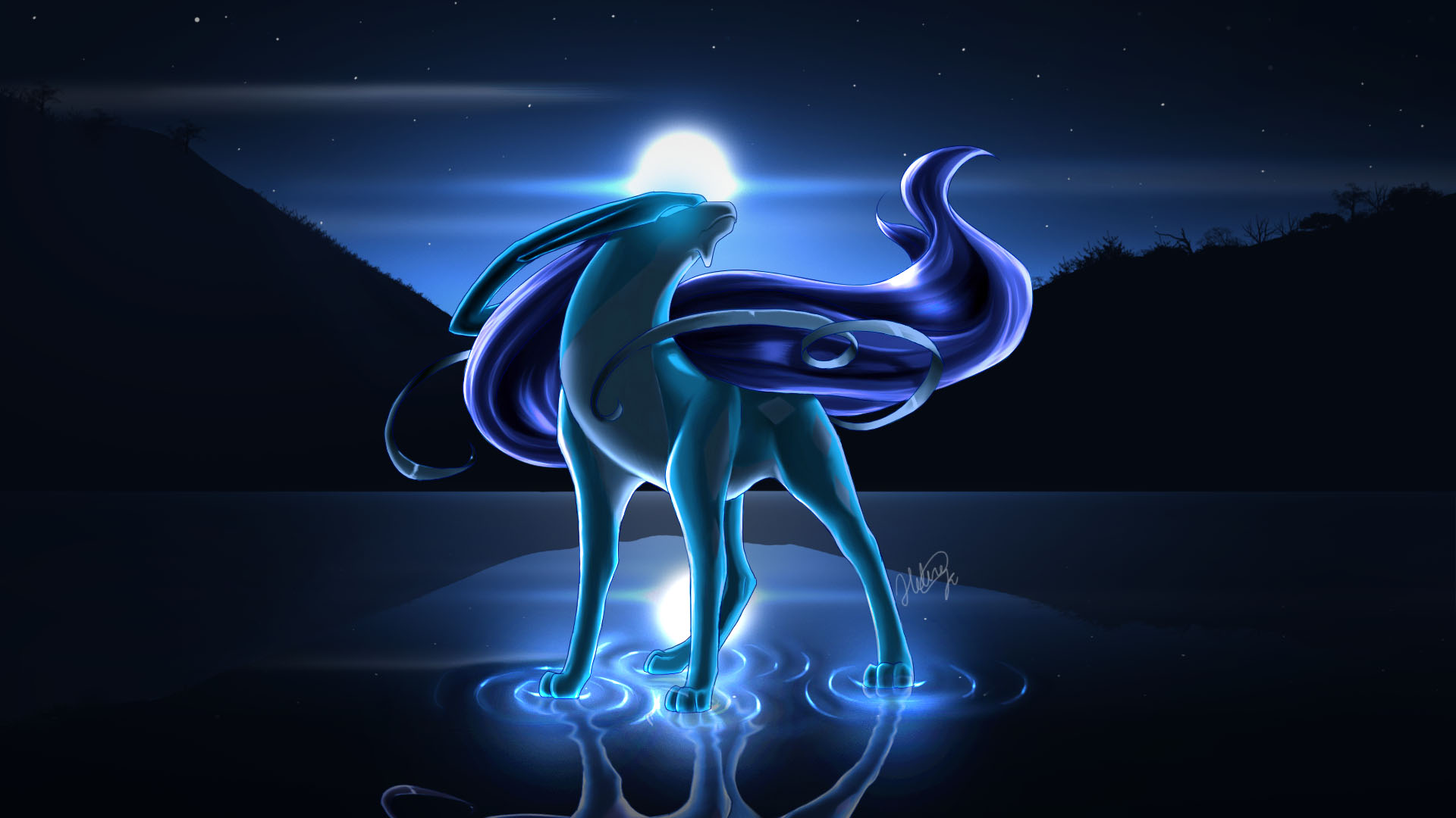 suicune pokemon hd wallpapers - photo #11