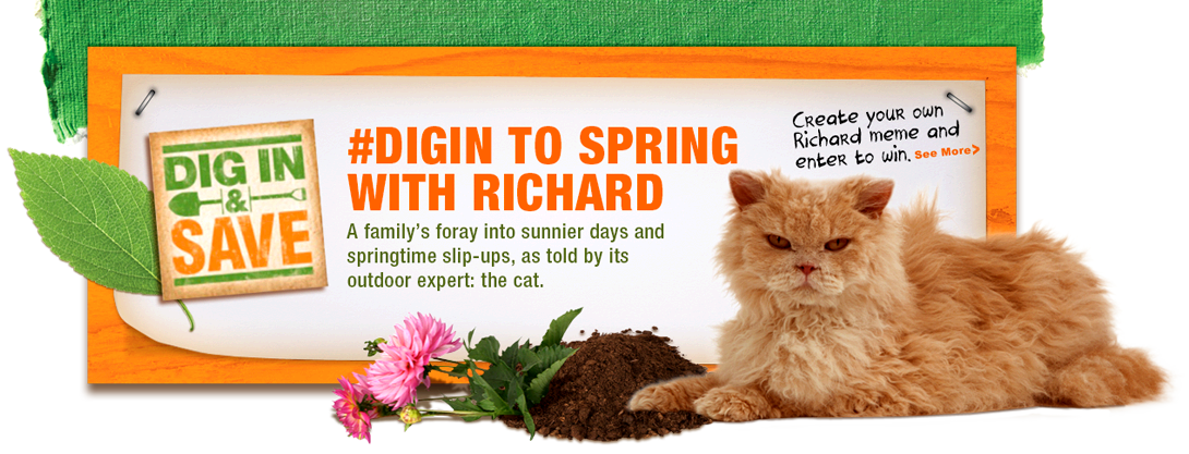 #DigIn to Spring with Richard