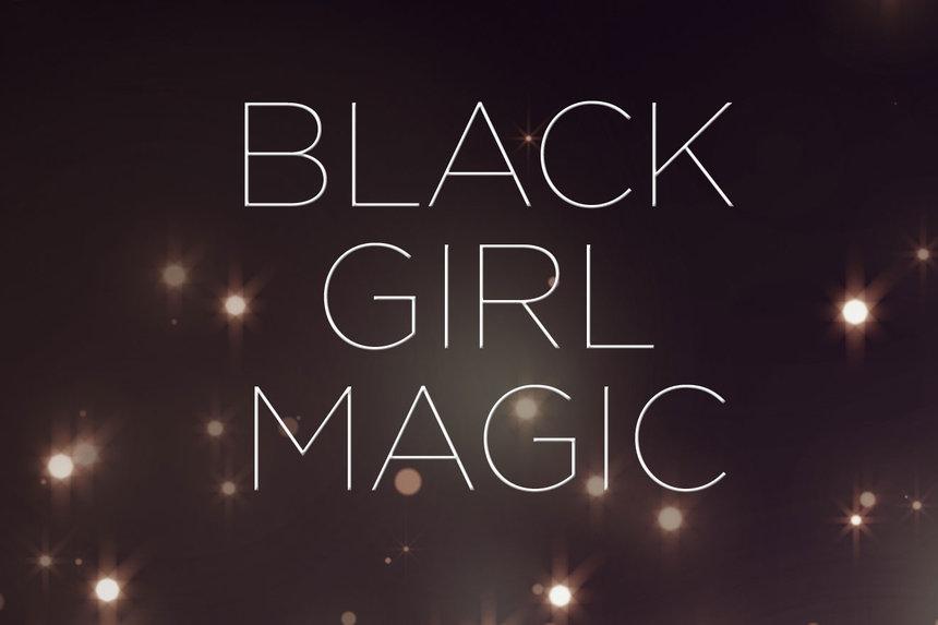 Girl magic wallpaper black Black Girl
