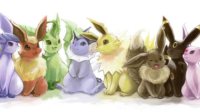 Pokemon fake eevee evolutions